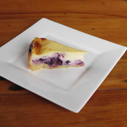 Blueberry Sourcream Cake